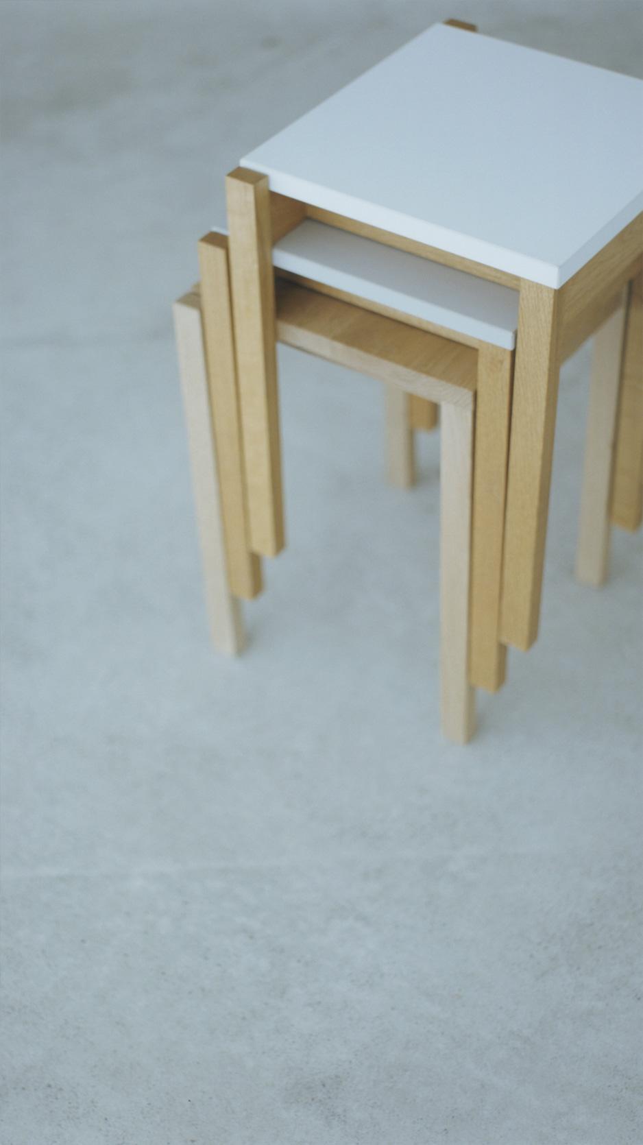 WOODWORKの木の椅子