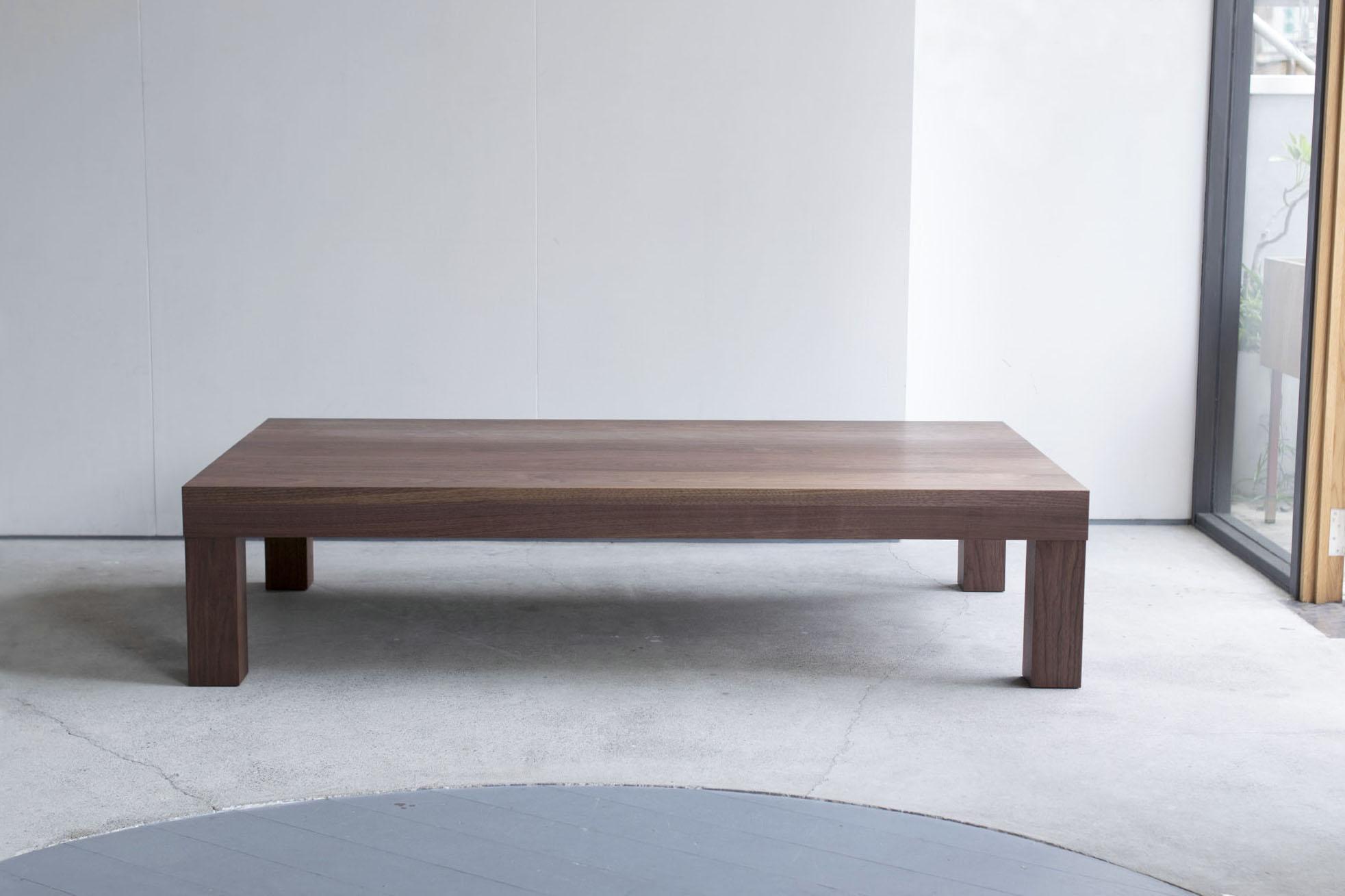 アッツローテーブル ウォールナット材