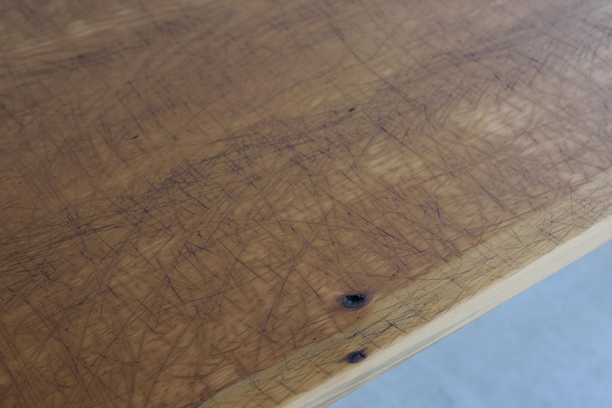 カツラ 一枚板天板 裁ち台からのリメイク