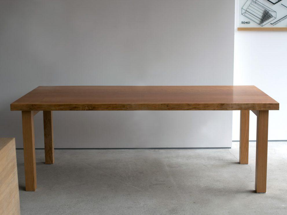 アメリカンチェリー一枚板天板 ダイニングテーブル