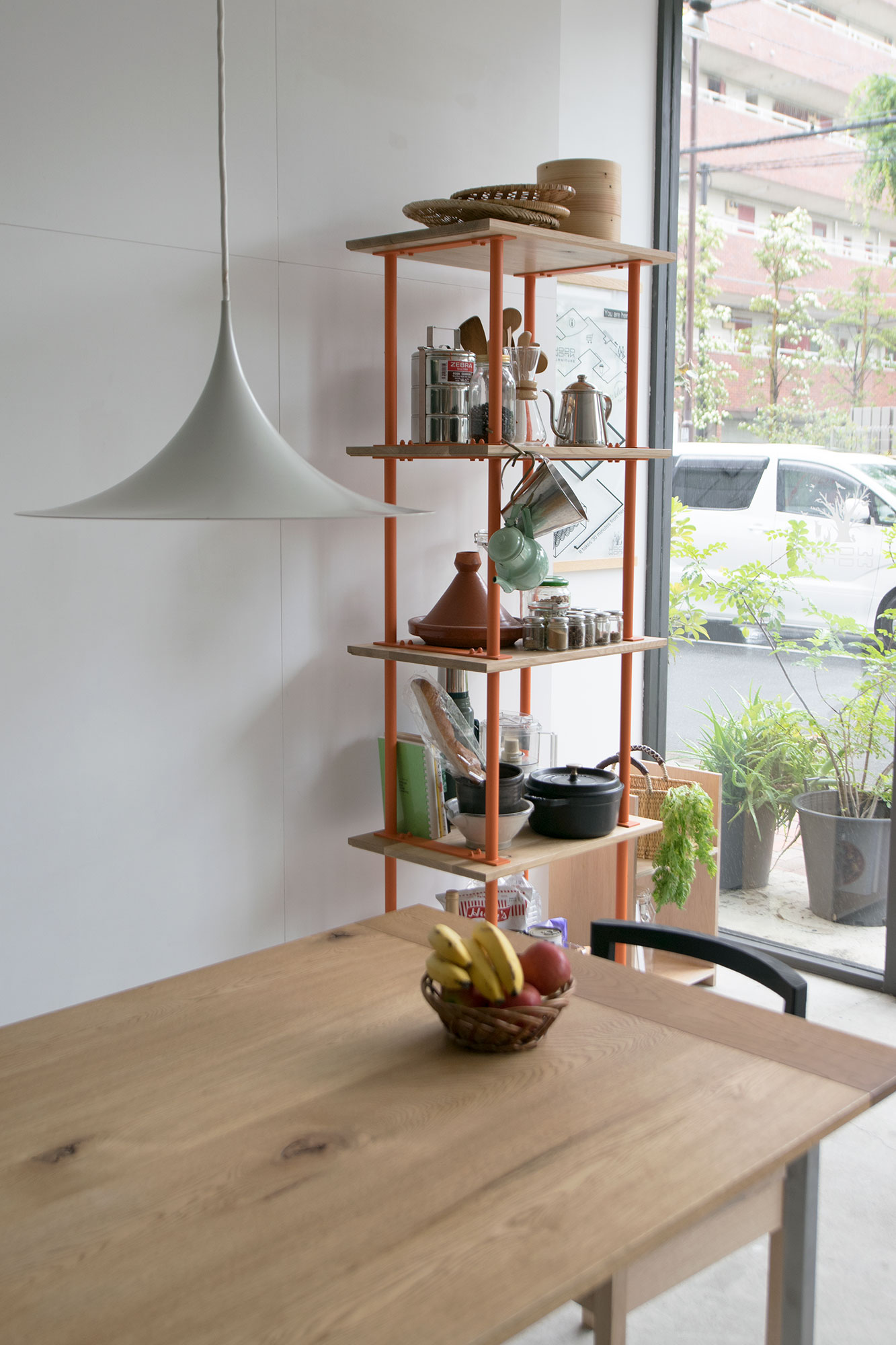 【BUILD RACK】特別なひと棚 -キッチン収納棚編-