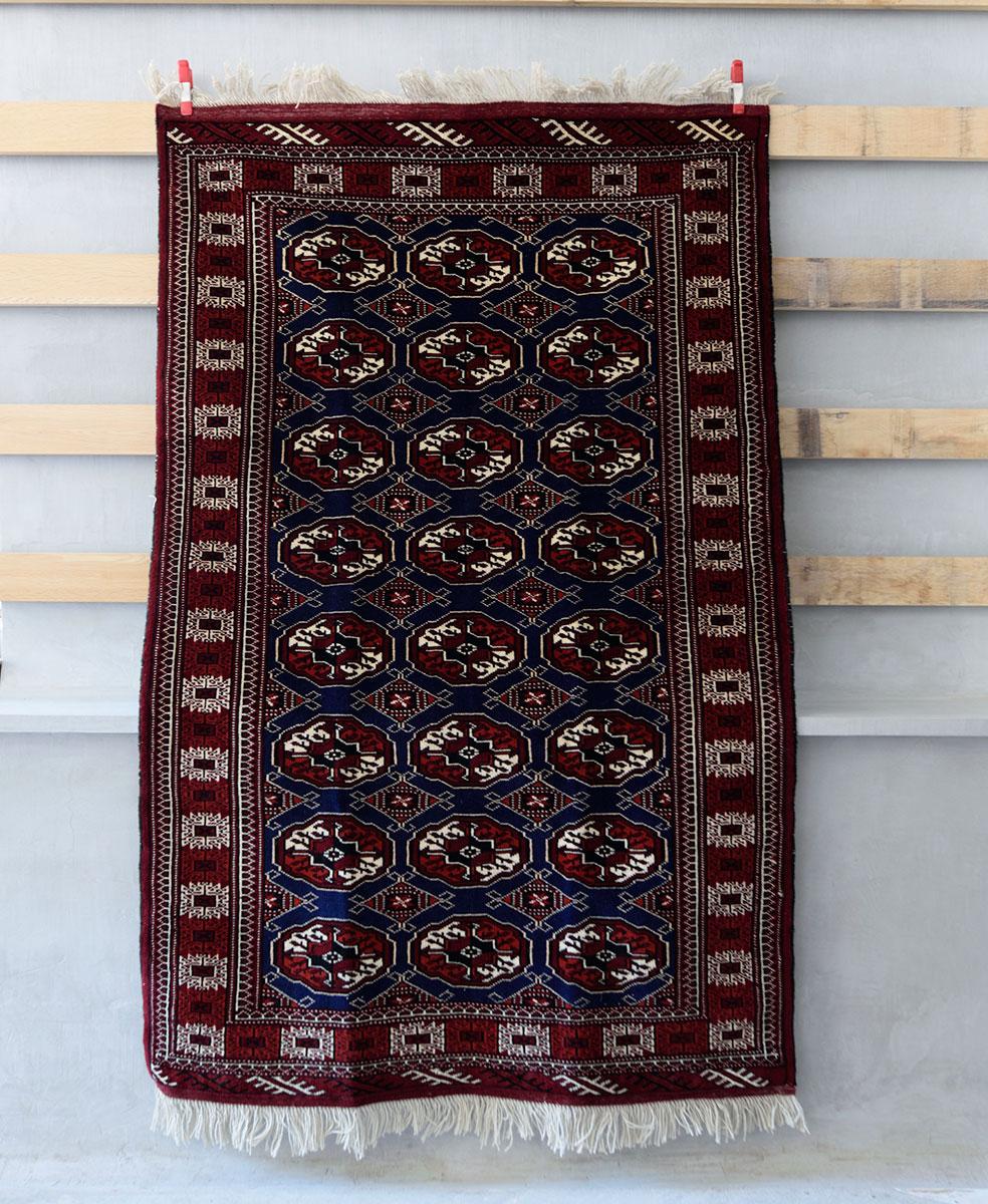 Tribal rug #71526 / 195×125cm / トルクメン族 / ¥140,000-(税別)