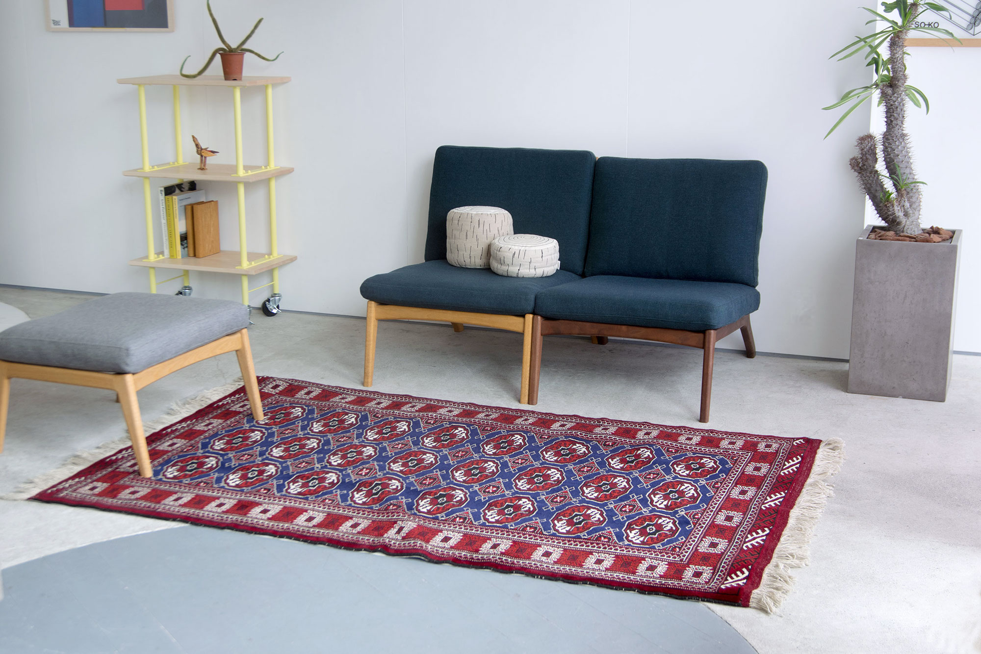 『Layout』POP UP -Tribal rug FAIR