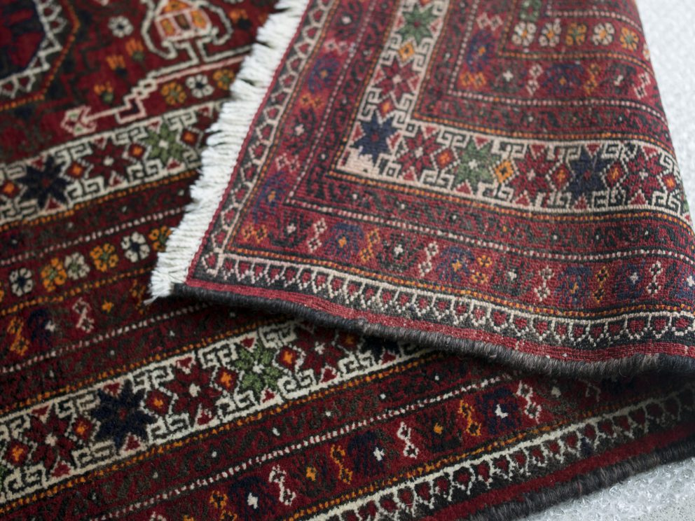 "Tribal rug by ""Baluch related tribe"""