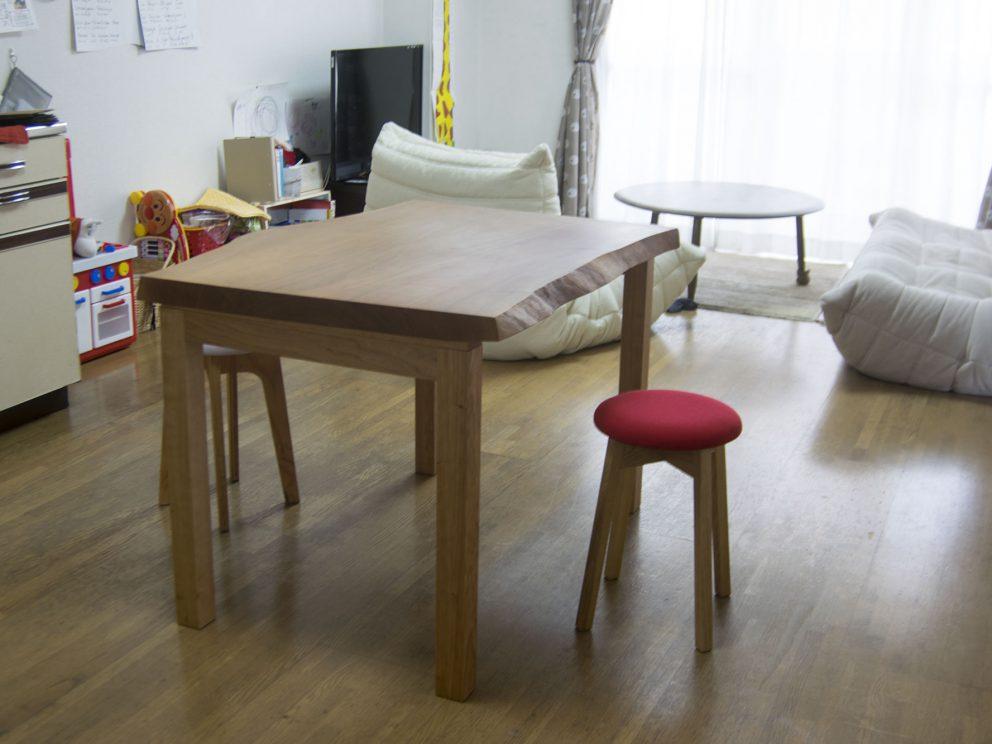 本桜一枚板天板 テーブル