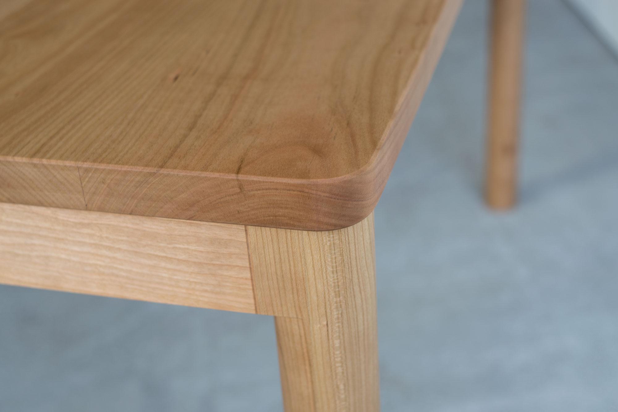 アメリカンチェリー材 スタンダードテーブル・タイプ2「R」
