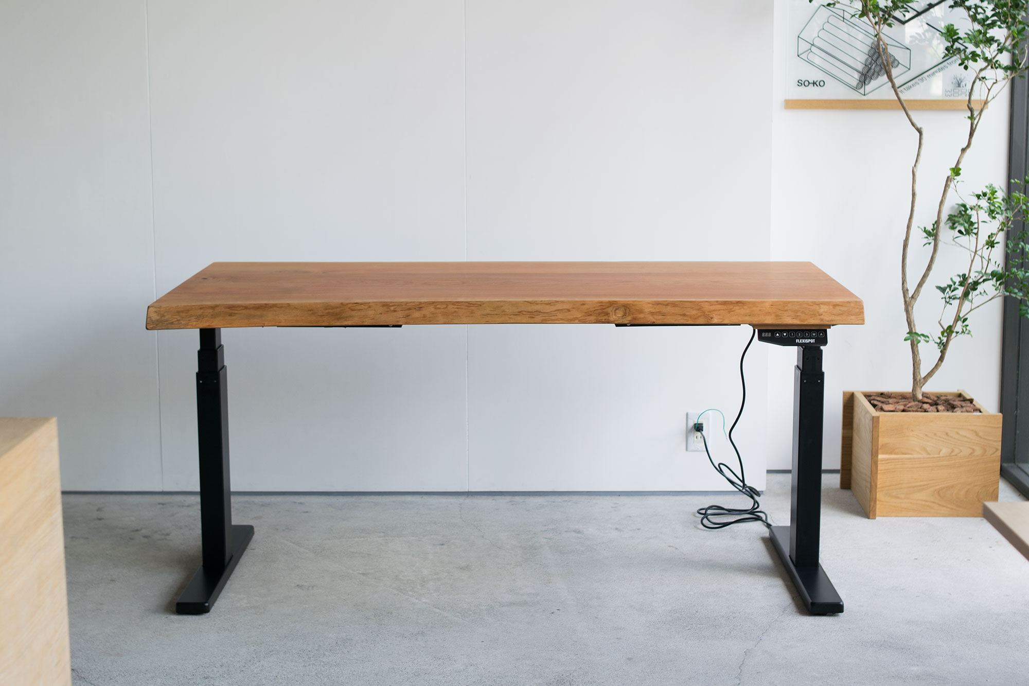 American Cherry Solid Top Desk