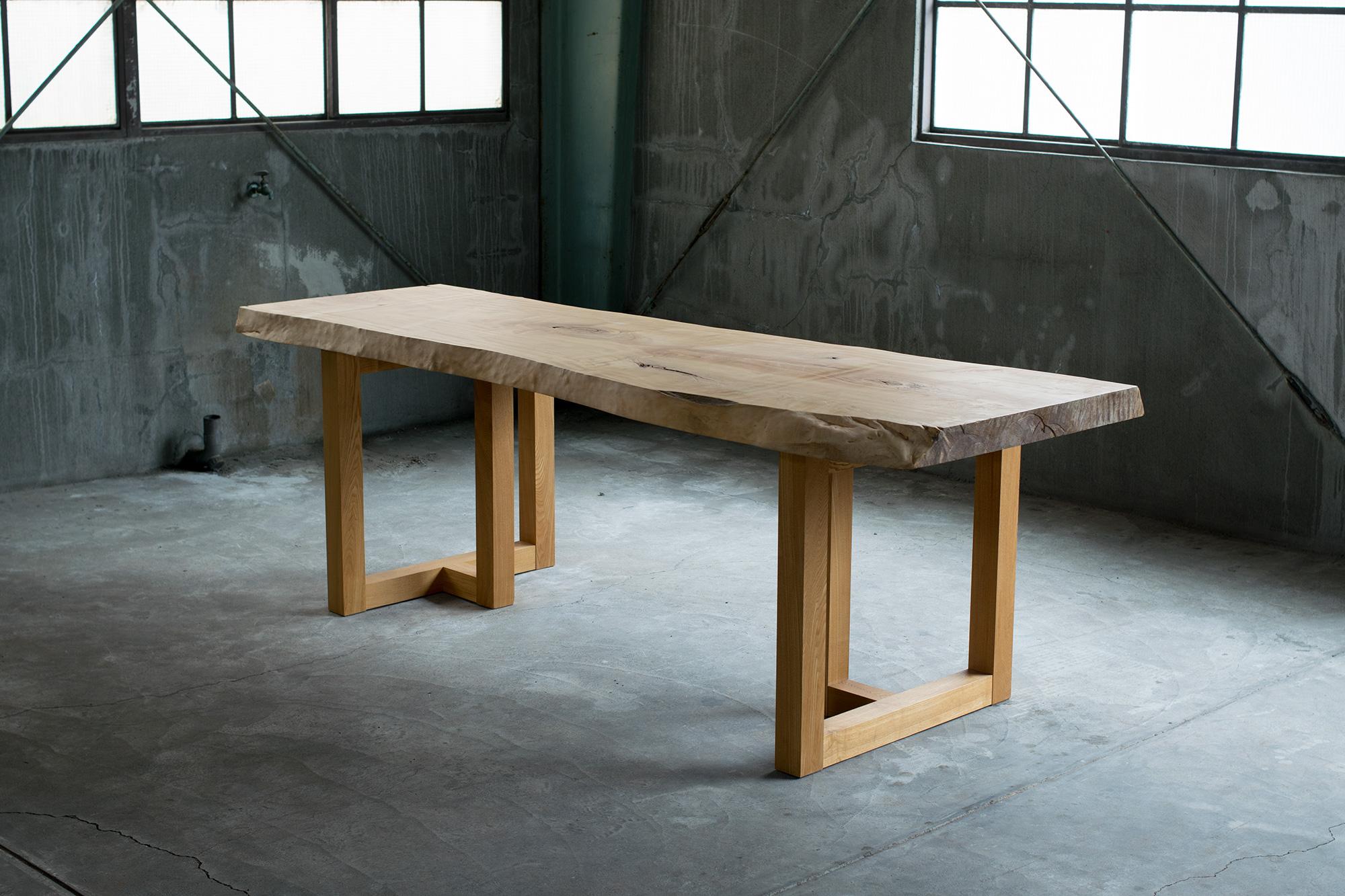 トチ一枚板天板(N16-02)