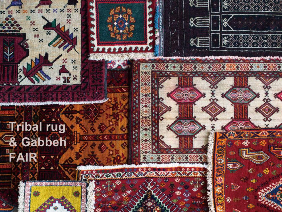 Tribal rug & Gabbeh FAIR