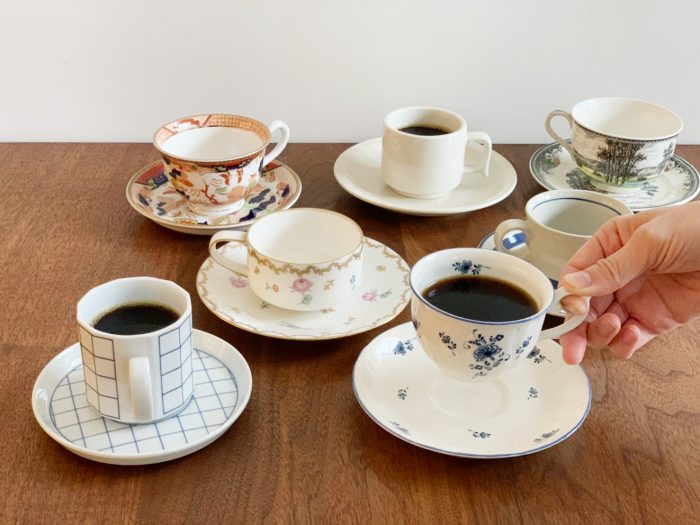 おうちコーヒー Vol.24 【Coffee cups!】 昭和レトロ編