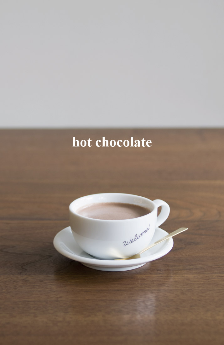 ≪ hot chocolate ≫