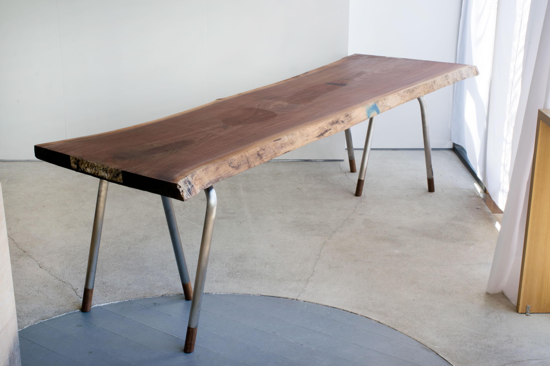 Sランクウォールナット一枚板天板 (N21-04)
