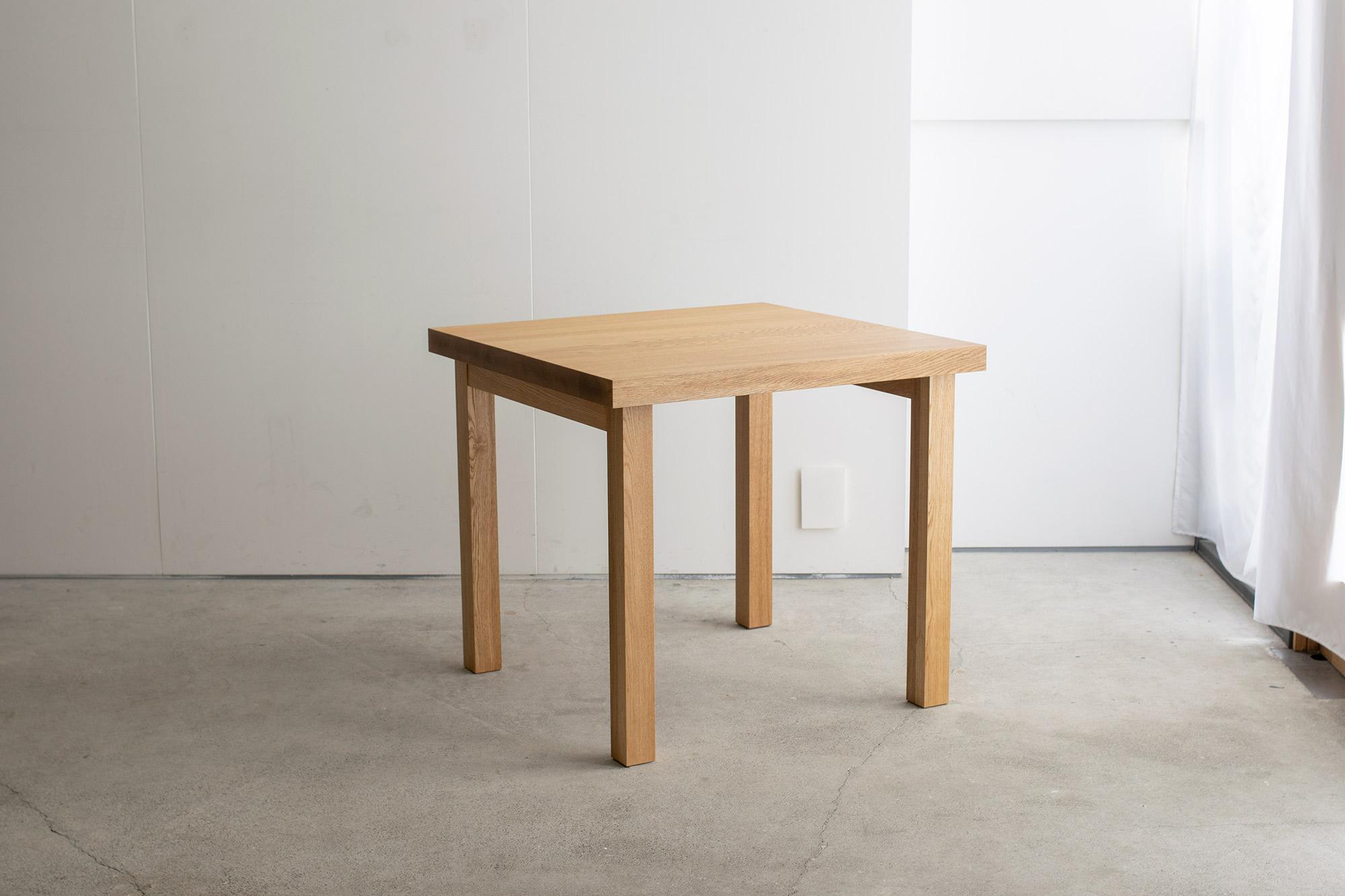 タモ材むくてんばんテーブル