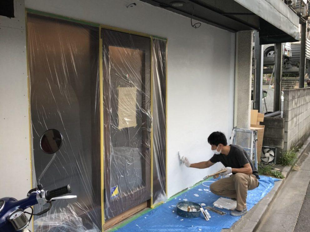 浦和 チルコロさん ファサード改修工事