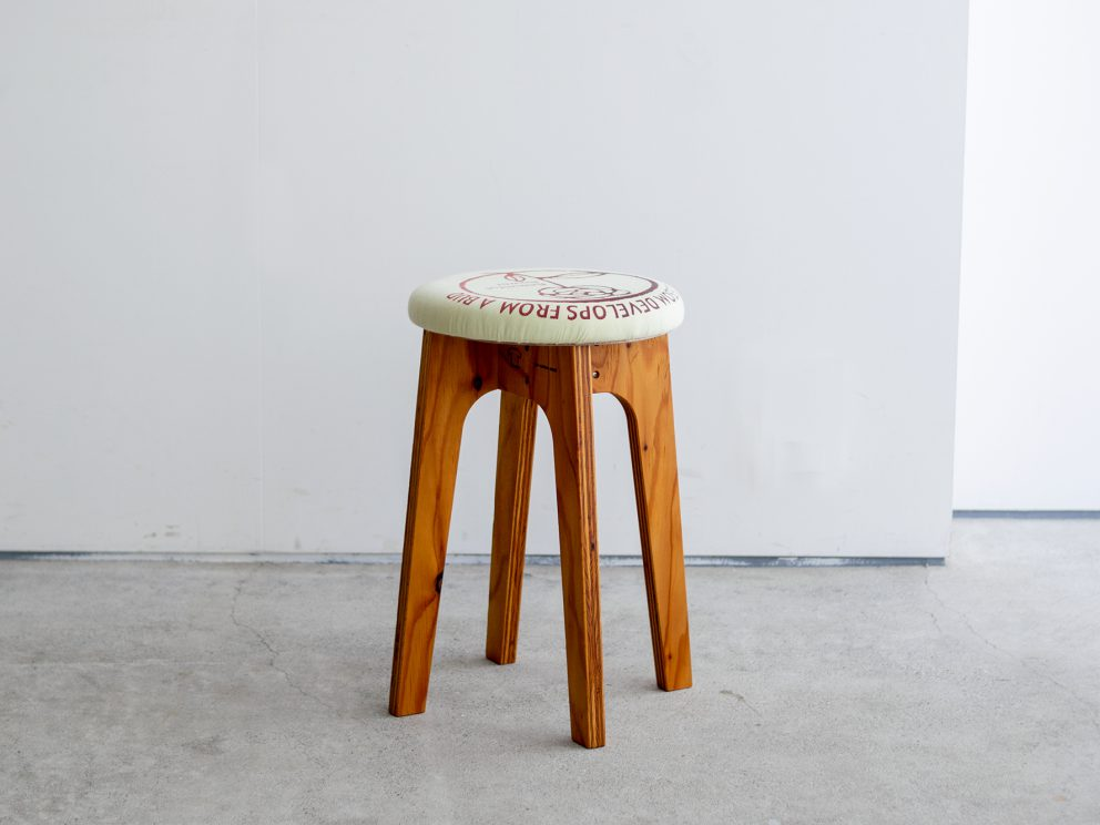 old clothes stools
