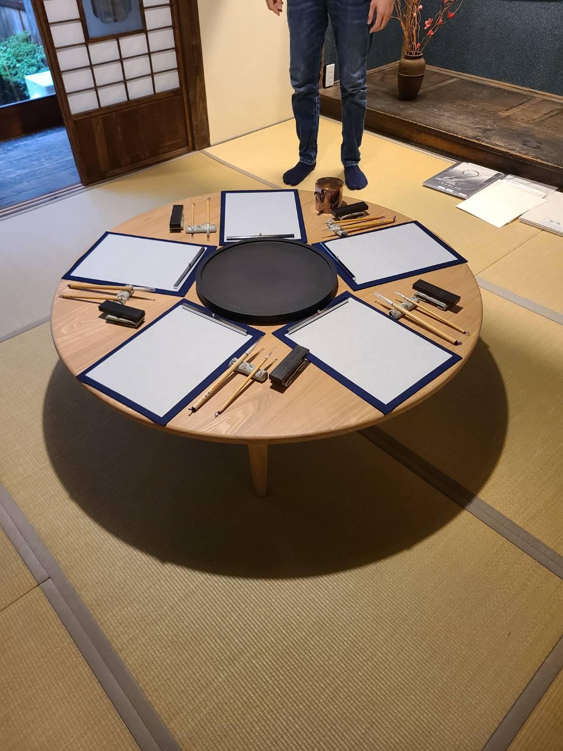 みんなの硯、のためのちゃぶ台